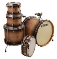 Tama CL52KSMHB 5 Piece Superstar Classic Maple Shell Pack in Mahogany Burst Lacquer Finish (CL52KSMHB)