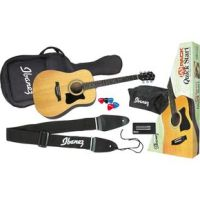 Ibanez IJV50 Quickstart Dreadnought Acoustic Guitar Pac (Ibanez Jampack IJV50)