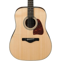 Ibanez AW400 Artwood Solid Top Dreadnought Acoustic Guitar (aw400bsg)